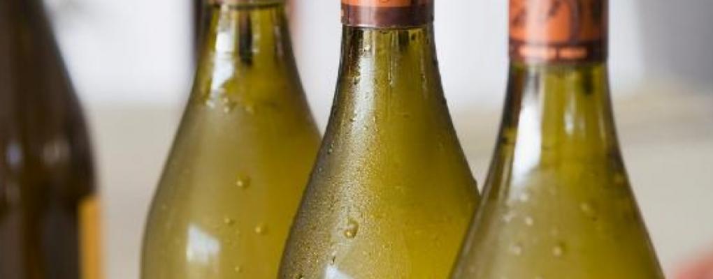 The ideal wine serving temperature