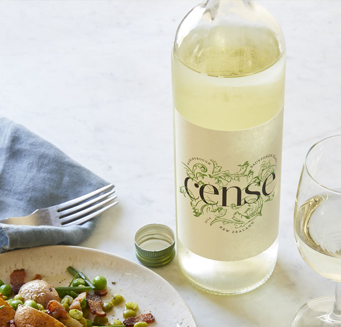 Lower-calorie wine Cense
